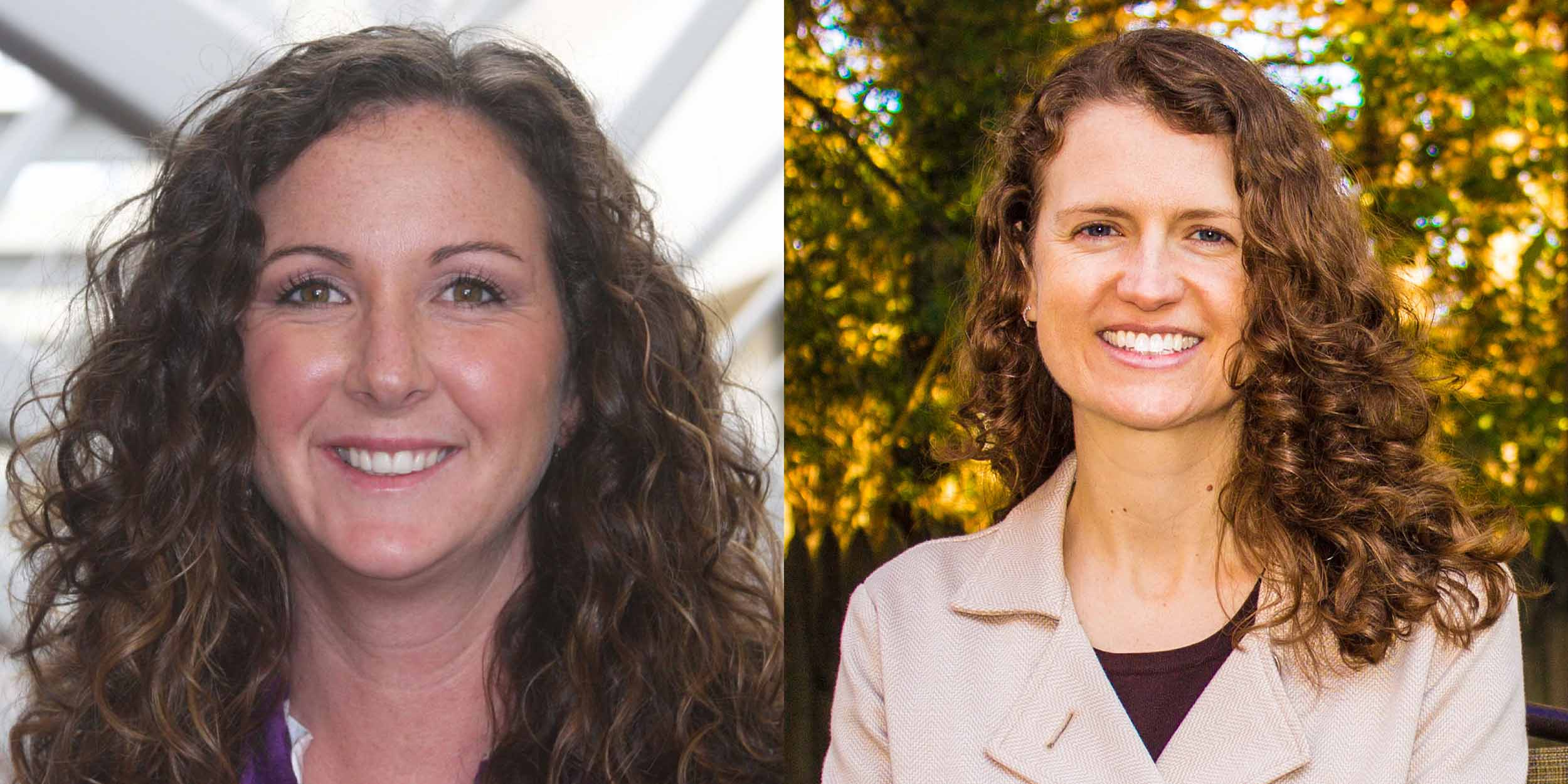 Dr. Hannah Dostal (left), University of Connecticut, and Dr. Kimberly Wolbers (right), University of Tennessee