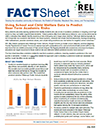 Fact Sheet on Using School and Child Welfare Data to Predict Near-Term Academic Risks