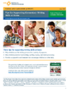 Tips for Supporting Elementary Writing Skills at Home
