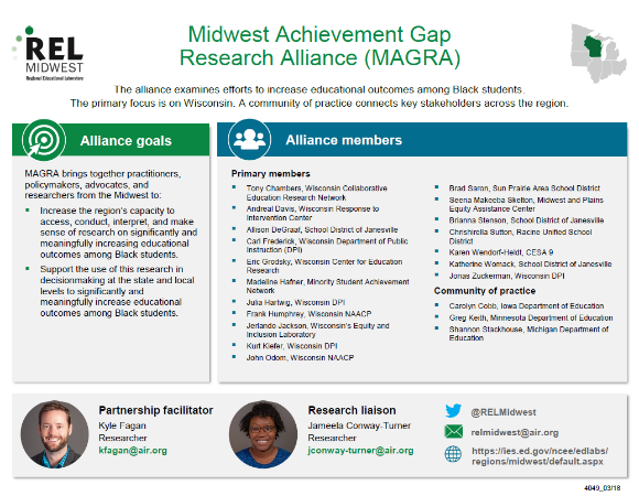 Midwest Achievement Gap Research Alliance Rel Midwest