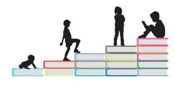 books as steps