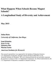 Evaluation of Conversion Magnet Schools: Report