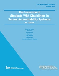 Study of School Accountability for Students with Disabilities: Report