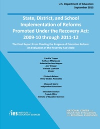 Charting the Progress of Education Reform: An Evaluation of the Recovery Act's Role: Report