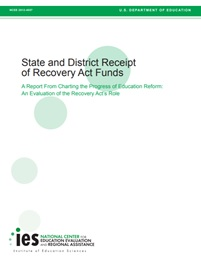 Charting the Progress of Education Reform: An Evaluation of the Recovery Act's Role: Synthesis Brief