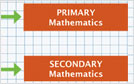 Boxes reading Primary and Secondary Mathematics.