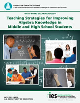 Cover image for Practice Guide: Developing Effective Fractions Instruction