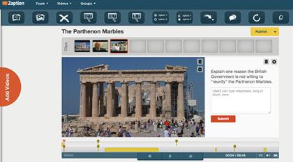 zap screen shot